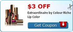 $3.00 off Extraordinaire by Colour Riche Lip Color