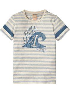 Camiseta con logotipo | Camiseta de manga corta | Ropa para niño en Scotch & Soda