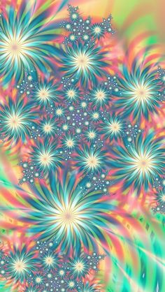 Cool fractal that reminds me of fireworks. Colorfull Wallpaper, Flower Wallpaper, Cool Wallpaper, Pattern Wallpaper, Aztec Wallpaper, Glitter Wallpaper, Pink Wallpaper, Screen Wallpaper, Fractal Design
