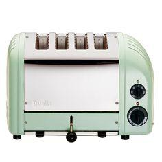 4-Slice Classic Toaster II in Mint Green
