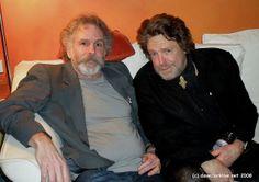 Bob Weir and John Perry Barlow John Barlow, John Perry Barlow, Bob Weir, Dead And Company, Forever Grateful, Grateful Dead, Bobby, Rock And Roll, Blues