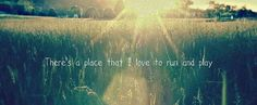 There's a place...