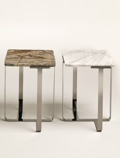 Square #marble coffee #table JOSHUA by i 4 Mariani   #design Umberto Asnago