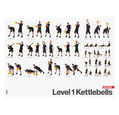 Kettlebell Exercises - Level 1