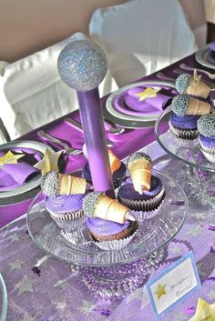 I had the great pleasure of doing this fun pop star themed party this weekend. This party was MADE for birthday girl Mia and her sister, . Star Theme Party, Pop Star Party, Birthday Party Themes, Birthday Ideas, 10th Birthday, Girl Birthday, Lalaloopsy Party, Sweet 16 Parties, Kpop