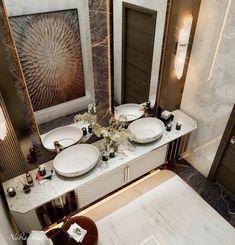 Washbasin Design, Trump New, Bathroom Design Small, Graphic Design Art, Bathroom Inspiration, Uae, Behance, House Design, Interior Design