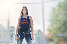 Senior Portrait / Photo / Picture Idea - Track - Girls
