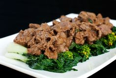 stir-fried chinese barbecue beef recipe | use real butter [this was delicious]