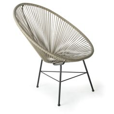 Design Tree Home Grey Acapulco Lounge Chair (China) - Overstock™ Shopping - Top Rated Chairs & Recliners