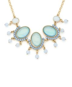 Ocean Princess Necklace - Periwinkle and Aqua #shoplately
