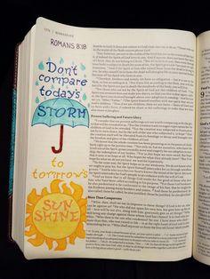 Terra Ragan: Bible Journal - Romans 8:18