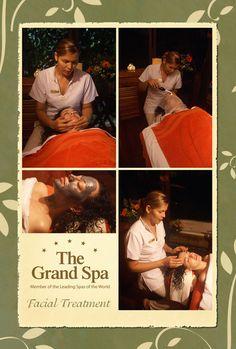Facial Treatment at the Grand Spa...