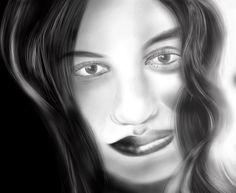 07 de junho, 2013 Pintura digital.