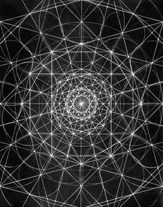 Seed of life and Metatron's cube