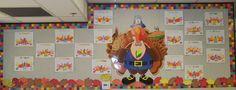 November / Thanksgiving / Turkey Bulletin Board