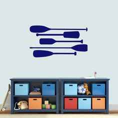 Boat Oars Wall Decals - Sweetums Wall Decals
