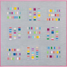 """""""In other news check out my new pattern for @robertkaufman! It's rollup friendly! Frameworks is a free pattern on the Robert Kaufman website. This quilt…"""""""