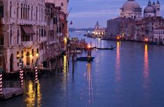 One place I would love to visit, would be Venice Italy. Well in general I want to visit Italy, but especially Venice. I want to ride in a gondola, and be serenaded.  I know it is so cheesy, but hey, can't stop a girl from wishing :) I have heard it can be pretty expensive to secure a ride in a gondola though, and if you aren't careful over there some of the gondoliers will rake you over the coals.