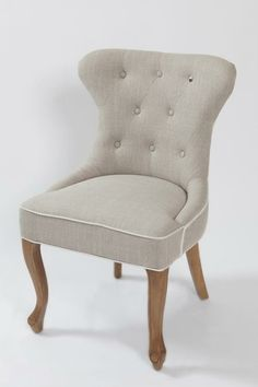 Riviera maison George Dining Chair, linen white