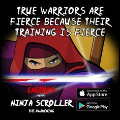 Ninja Scroller The Awakening: A fierce side scroller for iOS and Android Love List, News Games, App Store, Google Play, Awakening, 30th, Ninja, November, How To Get