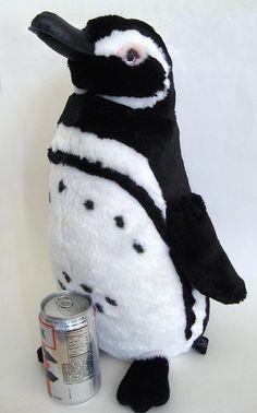 """Monterey Bay Aquarium Magellanic Penguin Plush Soft Toy Figure 18"""" African"""