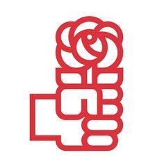 Logo PSOE, José Maria Cruz Novillo, 1976 #design #graphic #spain