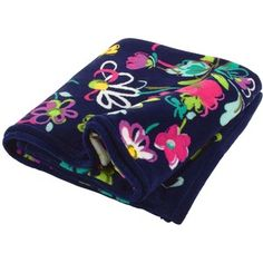 This is a Vera Bradley Ribbons Patterned fleece blanket. Ribbons is my favorite pattern on anything I get that is Vera Bradley!