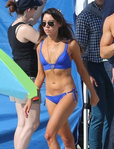 Pin for Later: Your Favorite Stars Look Damn Good in Bikinis Aubrey Plaza
