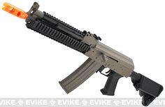 Lancer Tactical Sportline AK Metal Gearbox Airsoft AEG Rifle - Black or Desert (Store Display, Non-Working Or Refurbished Models)