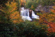 wv secenry pics | ... -falls-autumn-foliage-scenery - West Virginia - ForestWander.jpg