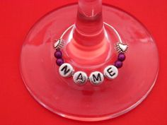 Personalised Name Wine Glass Charm with Hearts by libbysmarketplace Libby's Market Place http://www.amazon.co.uk/dp/B00A0I8VNU/ref=cm_sw_r_pi_dp_GvYzvb1QB35W2