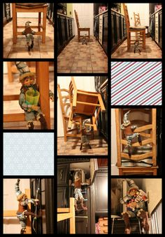 Wooloo | La chasse aux lutins de Noel. #Elf #Lutins A Shelf, Elf On The Shelf, Shelves, Le Blog De Vava, Christmas Deco, Christmas Stuff, Diy, Furniture, Elf Ideas