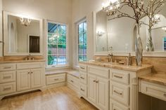 Large-scale mirrors further capitalize on the benefits that mirrors bring to the rooms in which they shine