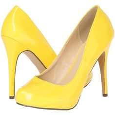 Michael Antonio Love Me High Heels, Yellow