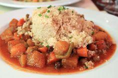 Le Potager du Marais (Paris, France): Chickpea Stew with Squash and Quinoa