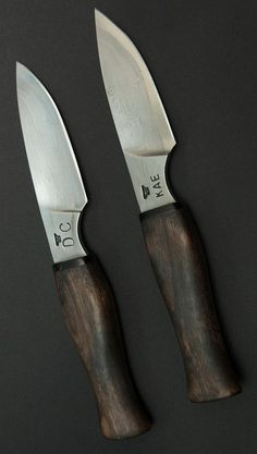 Custom Knives from Ferrum D. Gentile