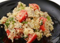 Quinoa con verduras al toque de cítricos