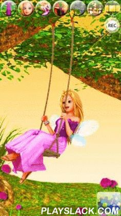 My Little Talking Princess  Android App - playslack.com , Talk to the beautiful fairy princess. She answers with her charming voice and reacts to what you say or your touch. Push the princess on her swing or choose the clothes that she can wear, she will love to spend her time with you. In addition, you can visit with her various landscapes and meet her pretty animal friends.This magnificent princess came out of a fairy tale to become your friend and share some lovely experiences with you…