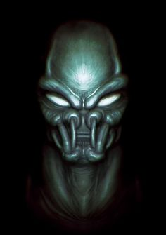 ArtStation - Alien head, Alexey Tarasov