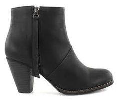 black leather acne pistol boots