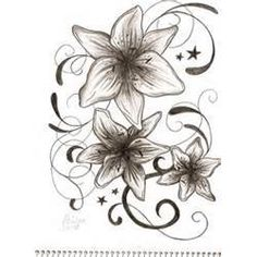 Lily Tattoo  Design Ideas Picture #7527 1637x2258
