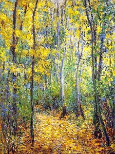 Wood Lane - Claude Monet 1877