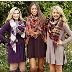 Plaid blanket scarves-Zara winter outfits mix and match – Just Trendy Girls