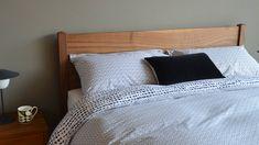 Modern Cotton Blend Duvet Set | Dash Dot Print | Natural Bed Company Cotton Bedding, Linen Bedding, Cotton Linen, Monochrome Bedroom, Bedroom Black, Double Duvet Set, Dash And Dot, Bed Company, King Size Duvet
