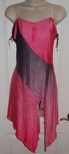 Marcea Dance Costume Dress Lyrical Modern Ballet Pink Gray 2 Pcs Sz Medium M JB #MarceaActiveWear