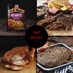 Add deeper flavor with seasoning blends and marinades that deliver authentic, wood-fired smoke flavors to chicken, ribs and steak.