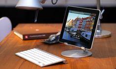 iPad computer.