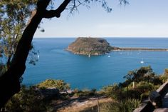 Barrenjoey Head seen from West Head - Ku-ring-gai Chase National Park