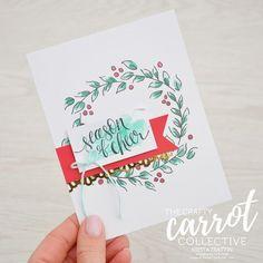kit, watercolor christmas, winter retreat, class