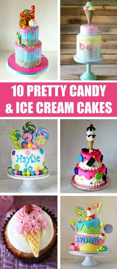 10 Pretty Ice Cream